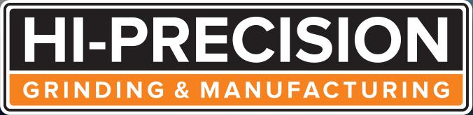 Hi-Precision Grinding & Manufacturing Logo